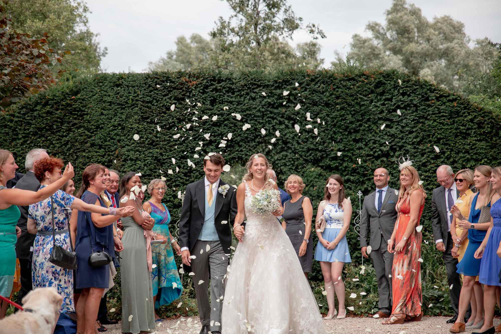 Kasteel-bruiloft