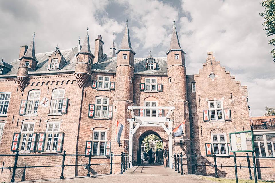 Vergaderen in een kasteel