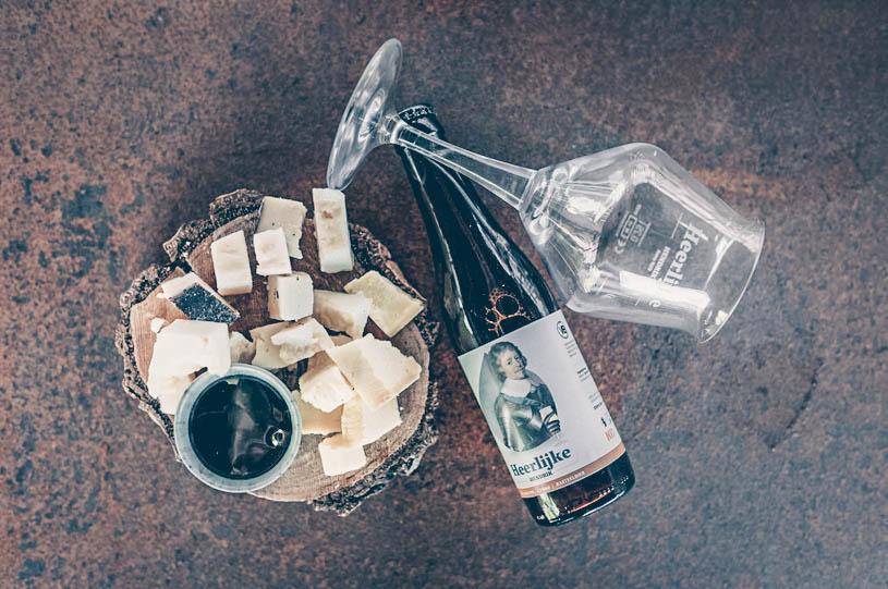 Heerlijke Hendrik bier met kaas