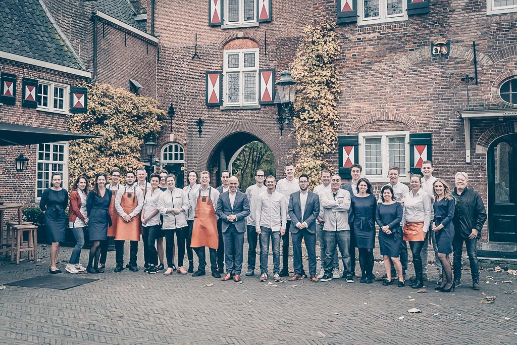 Hospitality team Kasteel Maurick