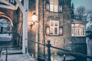 kerst vieren bij kasteel maurick