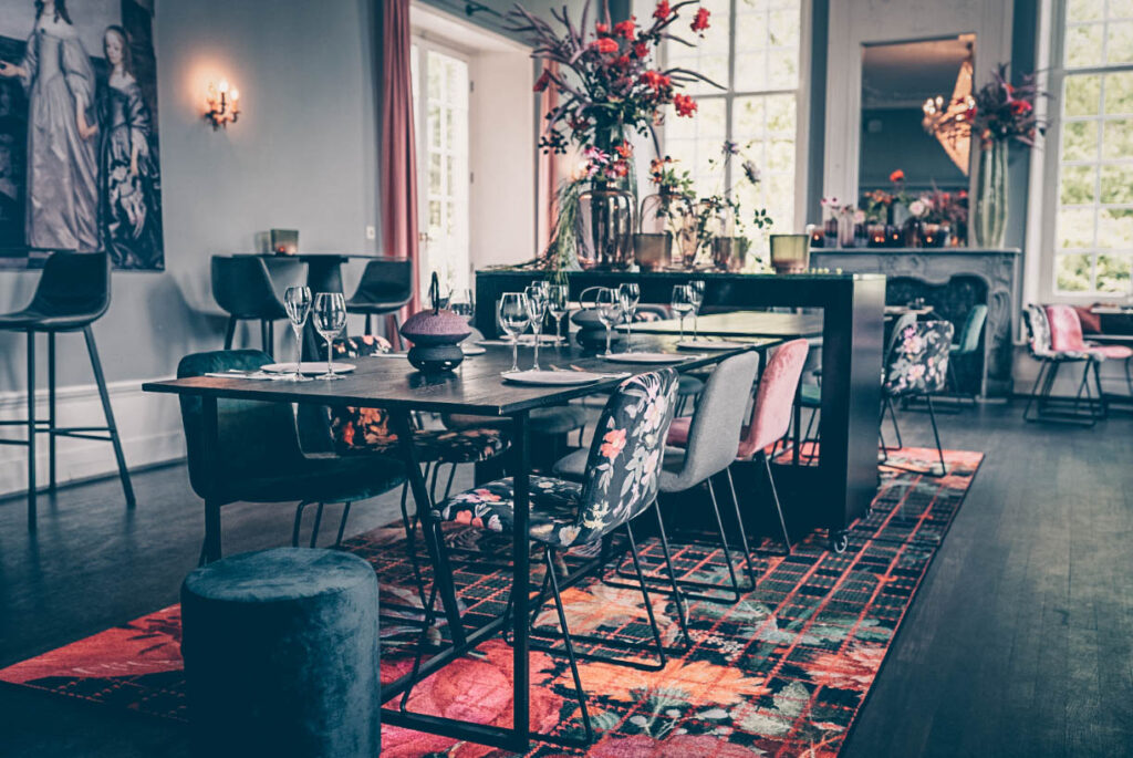 Restaurant in Den Bosch Catharina van Maurick interieur