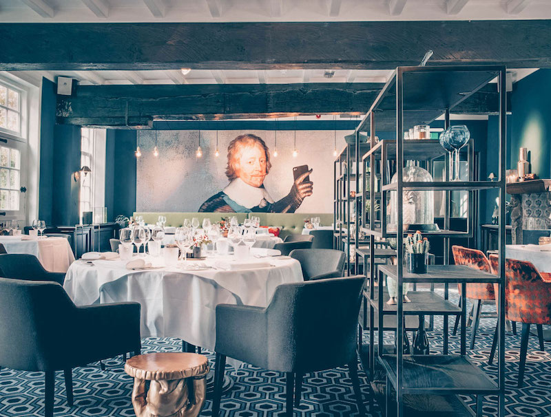 Restaurant Den Bosch Hendrik van Maurick interieur.